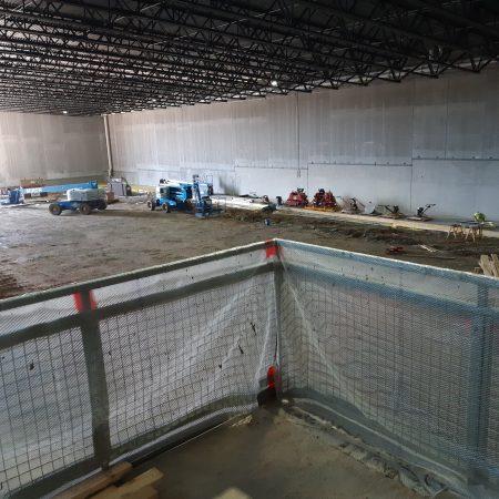 Champion Center Construction June 11
